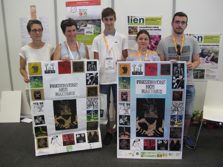 Iers prix de la meilleure affiche et du meilleur diaporama - Legta Louis Pasteur Marmilhat