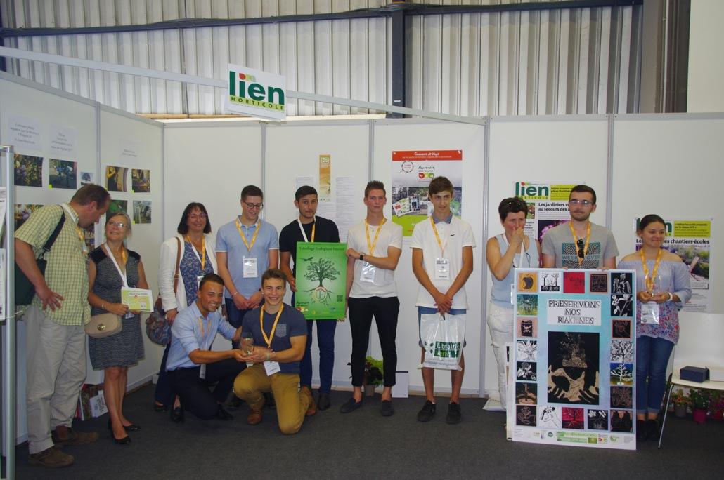 1ère remise des Prix - 21 juin 2017 - Salon du végétal à Nantes